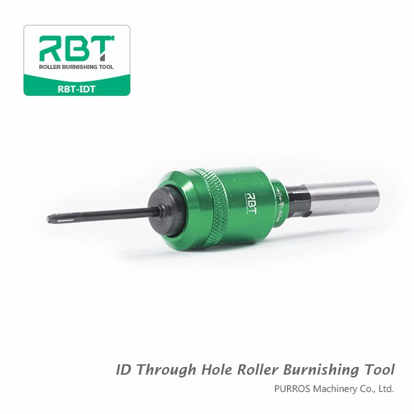 Roller Burnishing Tool, Small Size ID Roller Burnishing Tool, ID Roller Burnishing Tool for Through Holes, Inside Diameters Through Hole Roller Burnishing Tools