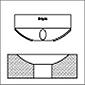 RBT Roller Burnishing Tools Concave Profile Burnishing Tool