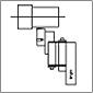RBT أدوات الصقل الأسطوانة أحادية الأسطوانة H- نوع أداة الصقل